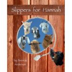 Slippers for Hannah, rope with alpaca, goat, sheep, chickens.