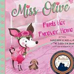 Miss olive a little dog with long pointed ears in pink, finds her forever home